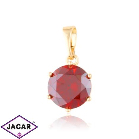 Przywieszka kryształek czerwony Xuping PRZ3139