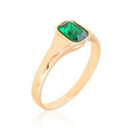 Pierścionek codzienny zielony Xuping PP3676