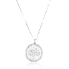 Naszyjnik stalowy drzewko CP7234