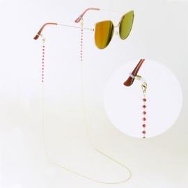 Łańcuszek do okularów stalowy - Aisadi LAP2751