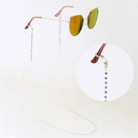 Łańcuszek do okularów stalowy - Aisadi LAP2752