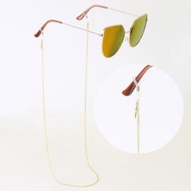Łańcuszek do okularów stalowy - Blueberry LAP2756