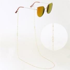 Łańcuszek do okularów stalowy - Blueberry LAP2757