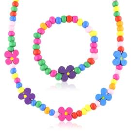 Komplet biżuterii dziecięcej 12szt/op - KOM561