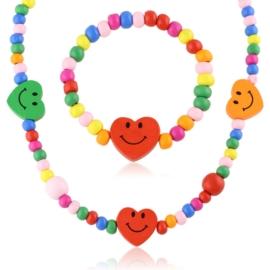 Komplet biżuterii dziecięcej 12szt/op - KOM562