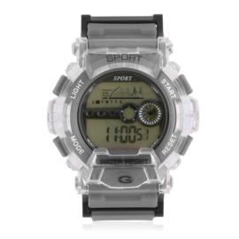 Zegarek męski sportowy szary Z2796