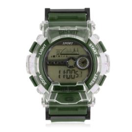 Zegarek męski sportowy zielony Z2797