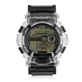 Zegarek męski sportowy czarny Z2798