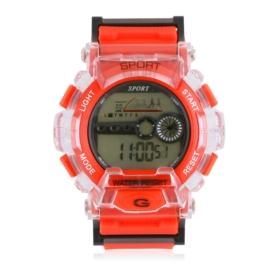 Zegarek męski sportowy czerwony Z2799
