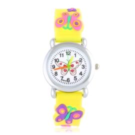 Zegarek dziecięcy silikonowy motylek Z2804