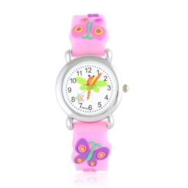 Zegarek dziecięcy silikonowy motylek Z2805