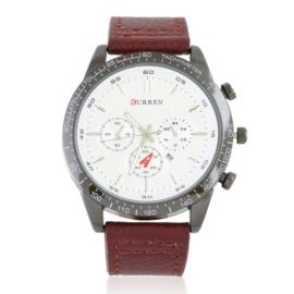 Zegarek męski na skórzanym pasku Z2806