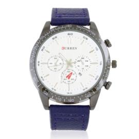 Zegarek męski na skórzanym pasku Z2807