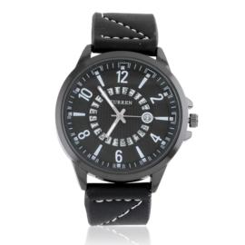 Zegarek męski na skórzanym pasku Z2808