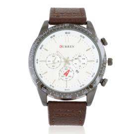 Zegarek męski na skórzanym pasku Z2809
