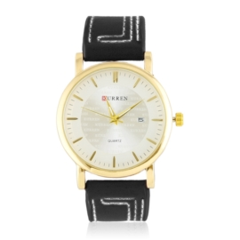 Zegarek męski na czarnym pasku Z2810