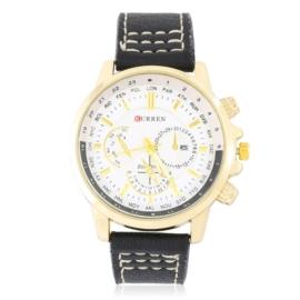 Zegarek męski na czarnym pasku Z2813