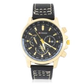 Zegarek męski na czarnym pasku Z2815