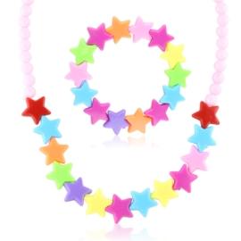 Komplet biżuterii dziecięcej 12szt/op - KOM565