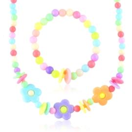 Komplet biżuterii dziecięcej 12szt/op - KOM566