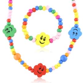 Komplet biżuterii dziecięcej 12szt/op - KOM567