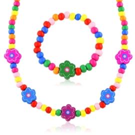 Komplet biżuterii dziecięcej 12szt/op - KOM568