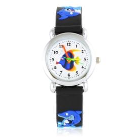Zegarek dziecięcy silikonowy rekin Z2831