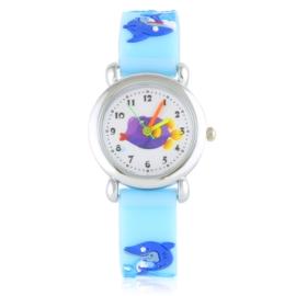 Zegarek dziecięcy silikonowy rekin Z2835