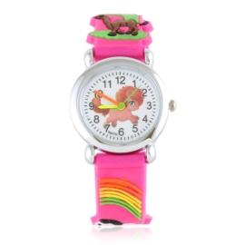Zegarek dziecięcy silikonowy animals Z2837