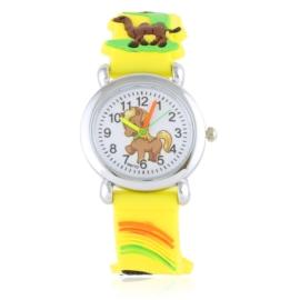 Zegarek dziecięcy silikonowy animals Z2838