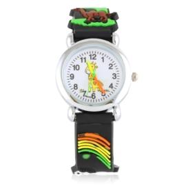 Zegarek dziecięcy silikonowy animals Z2839