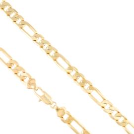 Łańcuszek figaro 50cm Xuping LAP2769