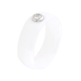 Pierścionek ceramiczny z oczkiem Xuping PP3752
