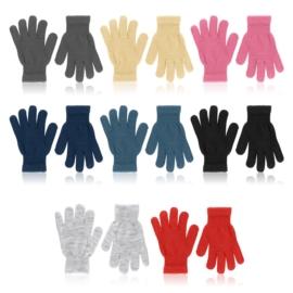 Rękawiczki dziecięce 18cm mix 12szt/op RK768