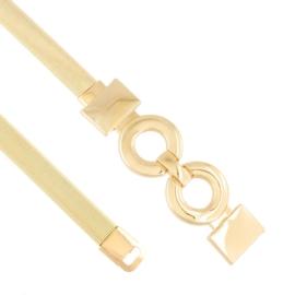 Pasek damski sprężynka złoty BL432