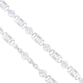 Bransoletka codzienna kryształki Xuping BP10303