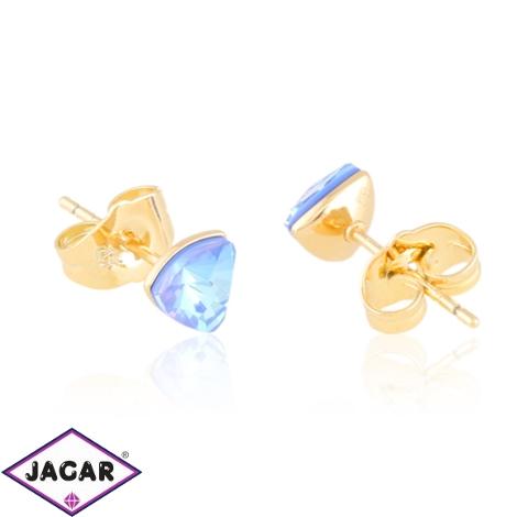 Kolczyki sztyfty crystal blue Xuping EAP20422