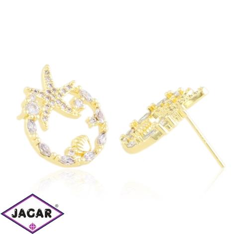 Kolczyki sztyfty z kryształkami Xuping EAP20441