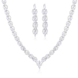 Komplet biżuterii wieczorowej Xuping - SKO126