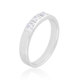Obrączka z kryształkami Xuping PP3800