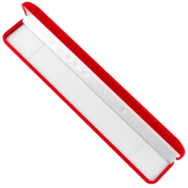 Etui na bransoletkę aksamitne red 23,5x4 OPA505