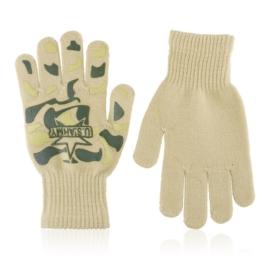 Rękawiczki chłopięce moro 18cm RK809
