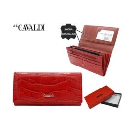Portfel damski skórzany PX27-CR Red P1500