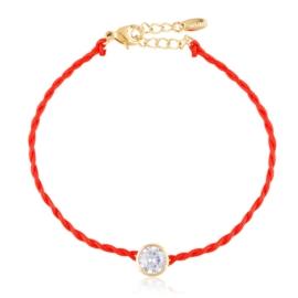 Bransoletka kryształek na sznurku Xuping BP10451