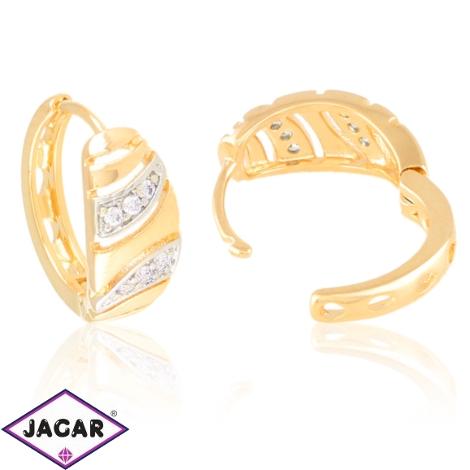 Kolczyki codzienne z kryształkami Xuping EAP20833