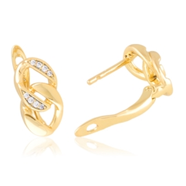 Kolczyki codzienne z kryształkami Xuping EAP20846