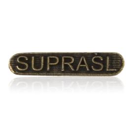 Figurka metalowa napis SUPRAŚL 10szt/op - FR300