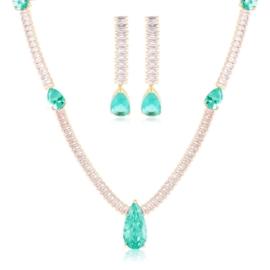 Komplet biżuterii wieczorowej Xuping - SKO134