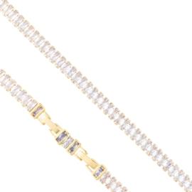 Bransoletka z kryształkami Xuping BP10513