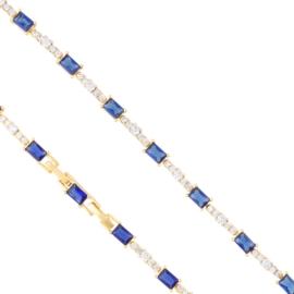 Bransoletka z kryształkami Xuping BP10517